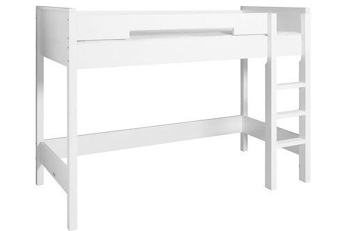 Lit Mezzanine 90x200 Seppe Blanc BOPITA