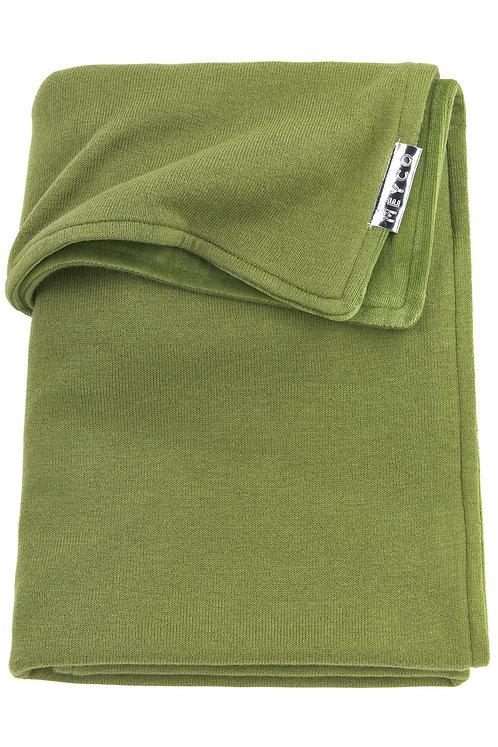 Couverture 75x100 cm - Knit basic - Avocat MEYCO