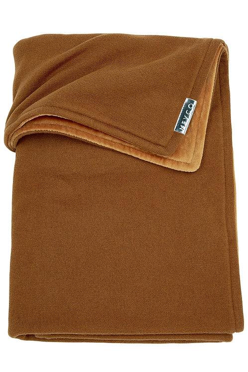 Couverture 100x150 cm - Knit basic - Camel MEYCO