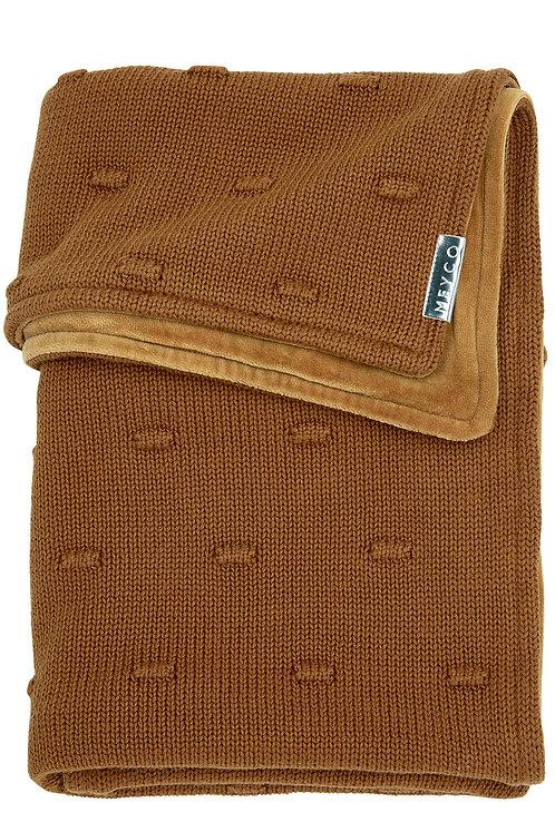 Couverture 75x100 cm - Knots - Camel - MEYCO