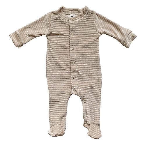Pyjama velours côtelé - 50/56 62/68 - Corduroy Sand - Witlof For Kids