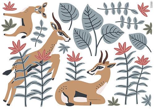 Stickers XL gazelles - Lilipinso