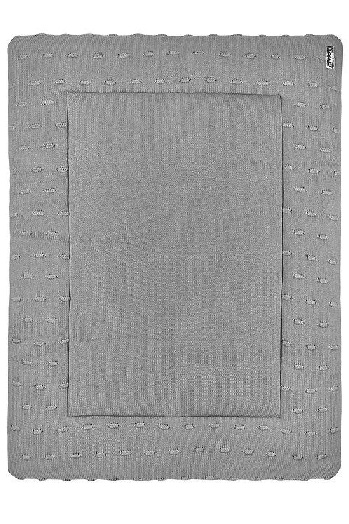 Tapis de parc 77x97 cm - KNOTS - Gris MEYCO