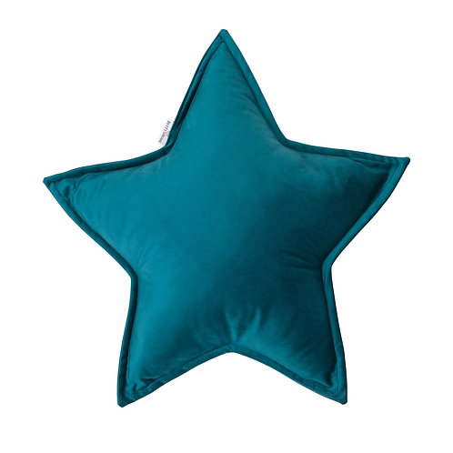 Coussin étoile velours - Emerald - Betty's home