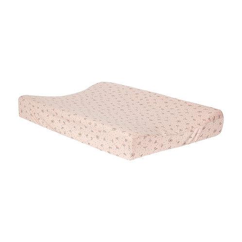 Housse matelas à langer jersey - Fabulous Wish pink - BEBE-JOU