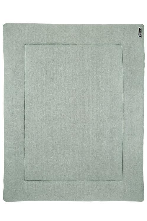 Tapis de parc 77x97 cm - Knit basic - Vert stone MEYCO