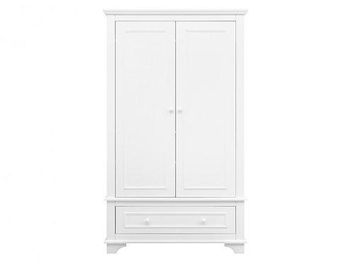Armoire 2-portes XL Charlotte Blanc BOPITA