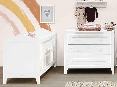 Lit 60x120 Evi Blanc BOPITA