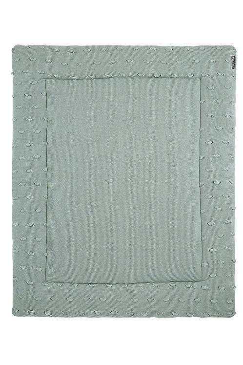 Tapis de parc 77x97 cm - KNOTS - Vert stone MEYCO