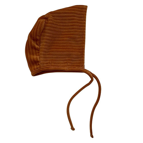Bonnet velours côtelé - Corduroy Hazel brown - Witlof For Kids