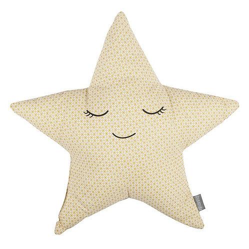 Coussin étoile - Yellow Metrics - PLUM PLUM