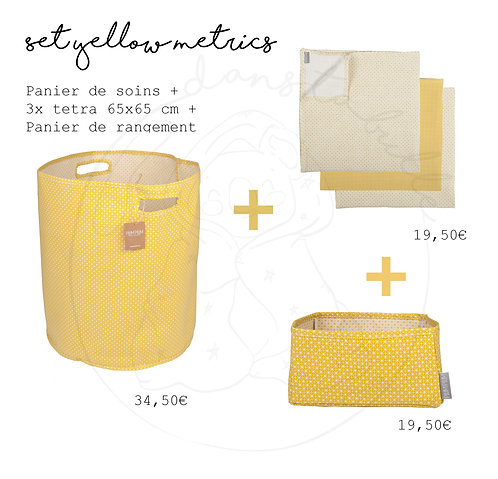 Set  - Yellow Metrics - PLUM PLUM