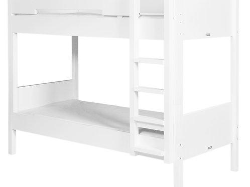 Lits superposés 90x200 Seppe Blanc BOPITA