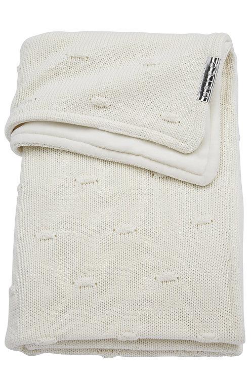 Couverture 100x150 cm - Knots - Blanc - MEYCO