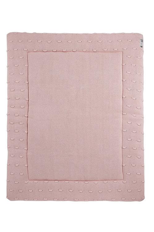 Tapis de parc 77x97 cm - KNOTS - Rose MEYCO