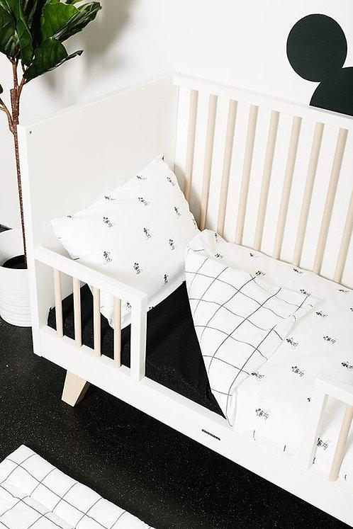 Housse de couette + taie d'oreiller lit bébé/berceau - Mickey Mouse- PLUM PLUM