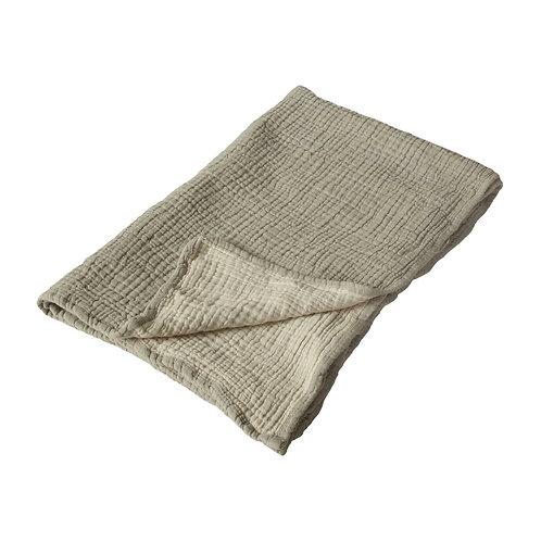 Natural - Serviette/couverture XL - 90x110cm - gris/ecru QUAX