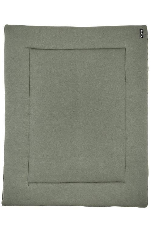 Tapis de parc 77x97 cm - Knit basic - Vert forêt MEYCO