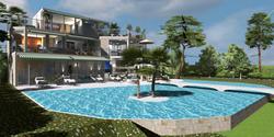 Villa and infinity pool Eze