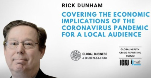 Covering the economic implications of coronavirus: A global webinar from GBJ co-director Rick Dunham