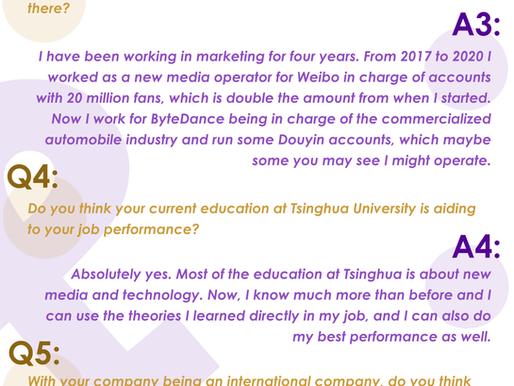 Student Q&A: Madier, a ByteDance employee, hopes to hone new media skills, English proficiency