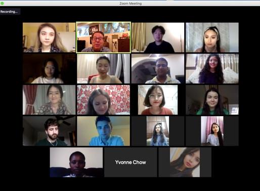 Global Business Journalism program begins 2020 orientation for new students