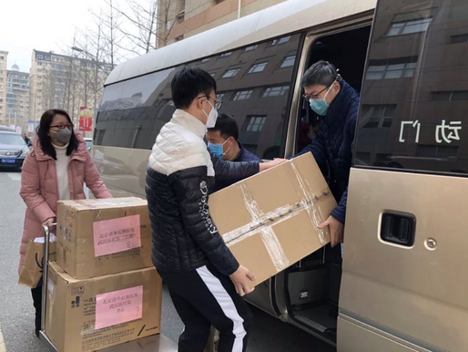 Tsinghua medical personnel travel to Wuhan to fight coronavirus