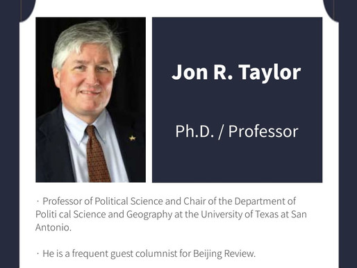 """There is a need to try to find a way for cooperation,"" says American China scholar Jon Taylor"