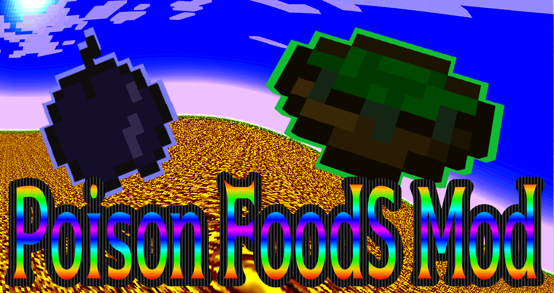 Poison Foods Mod