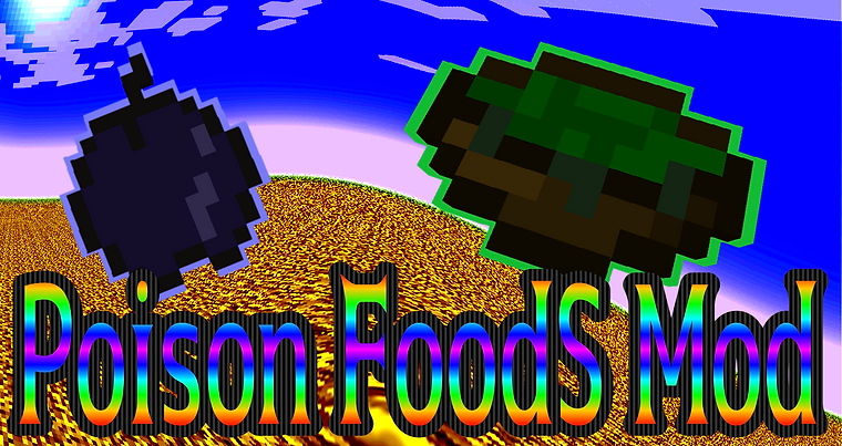 Poison Foods Mod