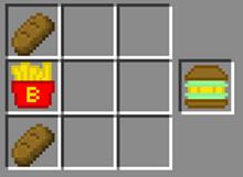 ブレイズポテトハンバーガー