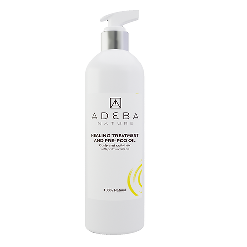 Adeba oil treatment - Pre-shampoo detangling and restorative oil