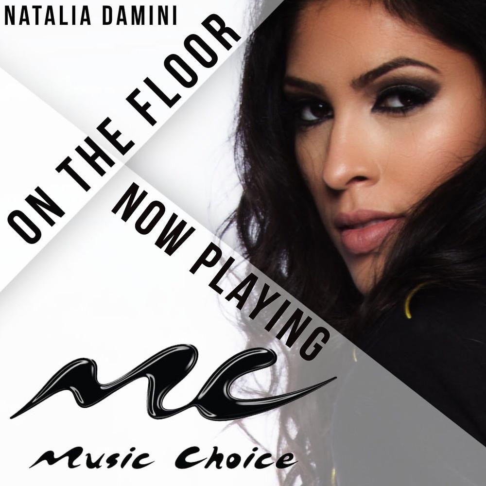 "Music Choice Natalia Damini ""On The Floor"" Roc Video Promo"