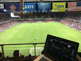 DJ Scotty B 'Turns Up' At World Cup at Bruce Arena in Orlando