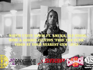 "Unity Lewis Ft. Amuka, Sly Stone, Bebe & George Clinton ""Free The Funk"" Video airing i"