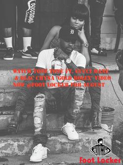 TONE Tone x Blac Chyna Foot Locker flyer Roc Video Promo