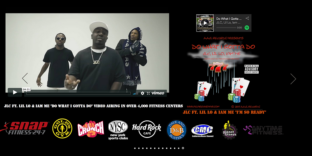 "JLC Feat. Lil Lo, Iam Me ""Do What I Gotta Do"" Video Ads"