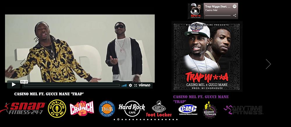 "Casino Mel ft. Gucci Mane ""Trap"" Video"