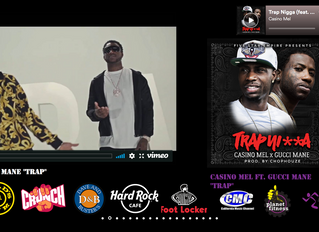 """Casino Mel ft. Gucci Mane """"Trap"""" Now Airing in Fitness Centers Nationwide Added to Foot Lo"""