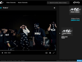 2Meka Diaz B.M.S. Music Video added to Music Choice VOD