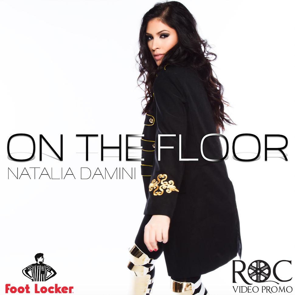 "Natalia Damini ""On The Floor"" Video in Footlocker Stores (Roc Video Promo)"