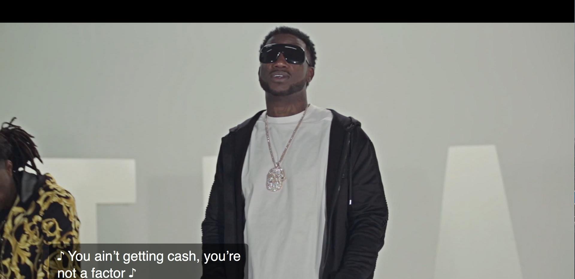 Gucci Mane Closed Captioned _Trap_ Video
