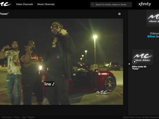 Billion Dollar BD Ft. Money Man - Power Music Video Now Playing on Music Choice