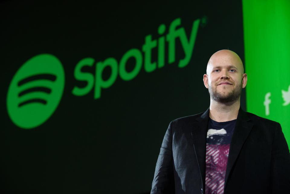 Daniel EK Spotify CEO
