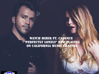 Mihir Ft. Cadence - Perfectly Lonely Music Video Now Airing CMCTV