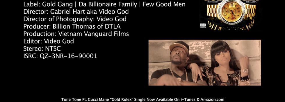 Tone Tone, Gucci Mane, Black Chyna, Gold