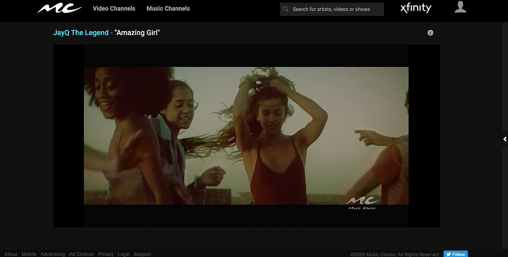 JayQ The Legend - Amazing Girl Music Choice