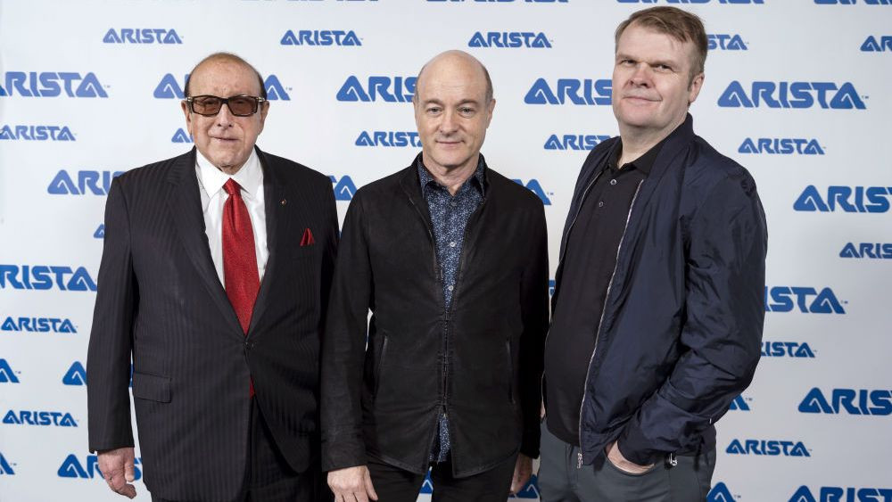 Clive Davis, David Massey & Rob Stringer