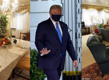 Ντόναλντ Τραμπ:Η πολυτελής σουίτα που νοσηλεύεται -Εχει γραφείο, σαλόνι και τραπεζαρία BCI GREECE