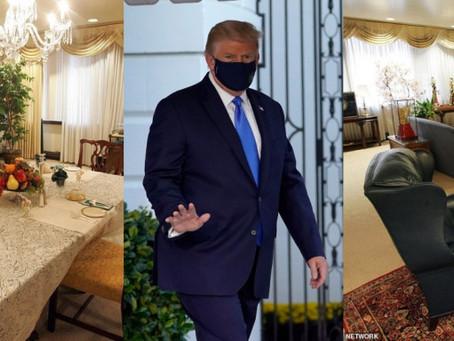 Ντόναλντ Τραμπ:Η πολυτελής σουίτα που νοσηλεύεται -Εχει γραφείο, σαλόνι και τραπεζαρία|BCI GREECE
